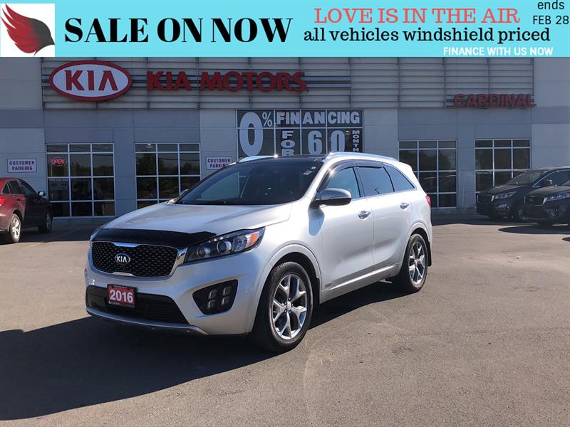 2016 Kia Sorento SX*7 PASSENGER*NAVIGATION*LOADED #SR19076A
