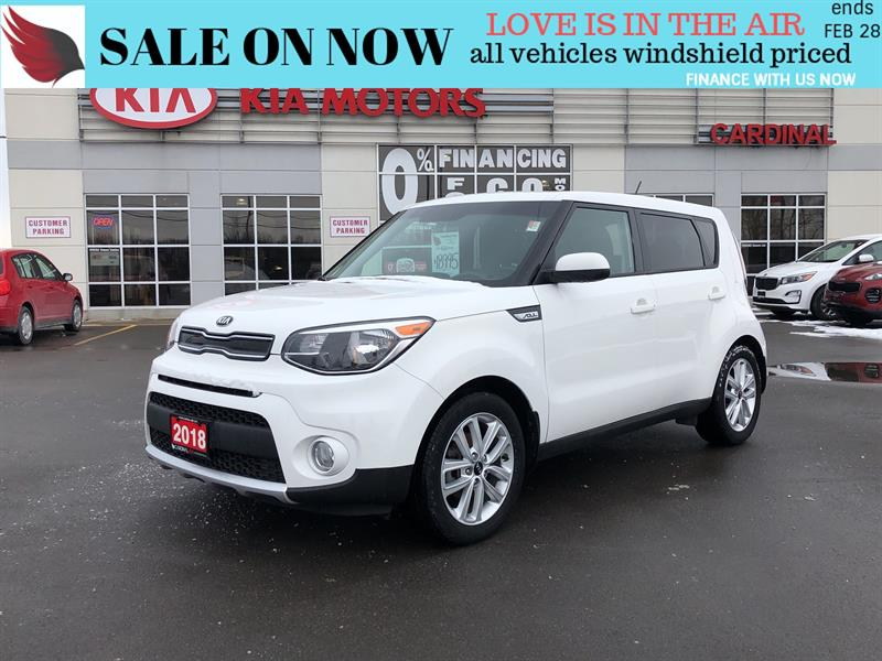 2018 Kia Soul EX*BACK CAM*HEATED SEATS AND WHEEL #8045