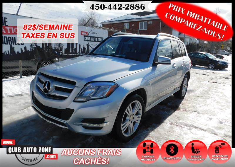 Mercedes-Benz GLK-Class 2014 GLK 250 BLUETEC 2014 AUTOMATIQUE BLUETOOTH #EG308516