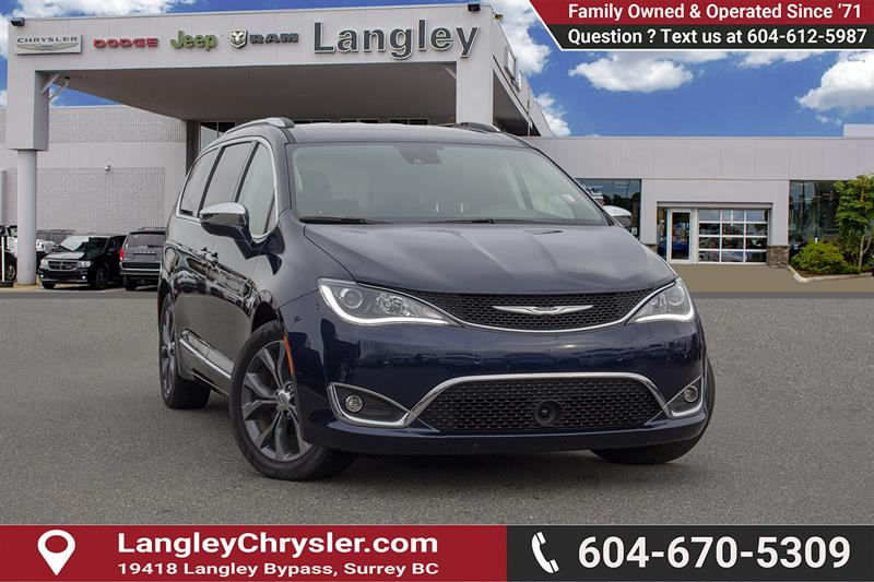 2018 Chrysler Pacifica Limited #EE900020