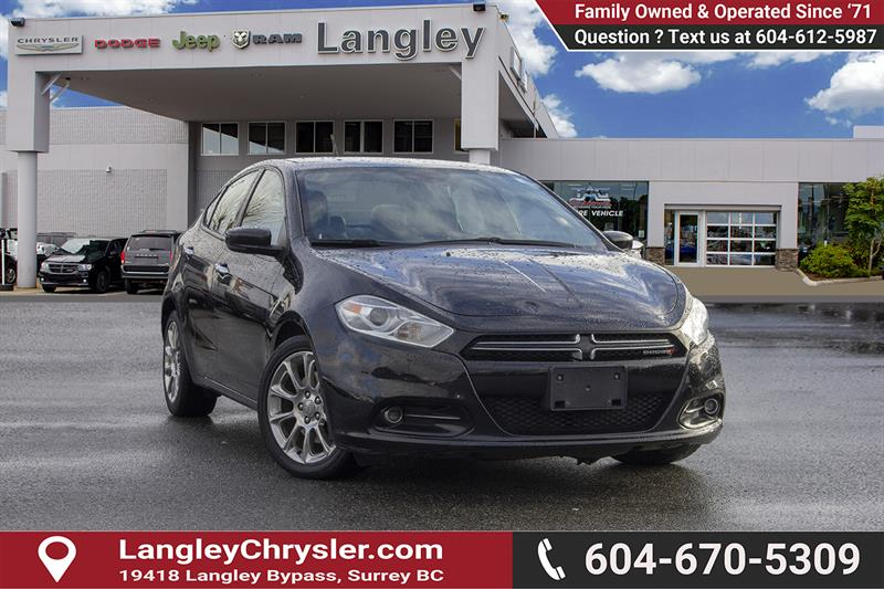 2014 Dodge Dart Limited #K560126A