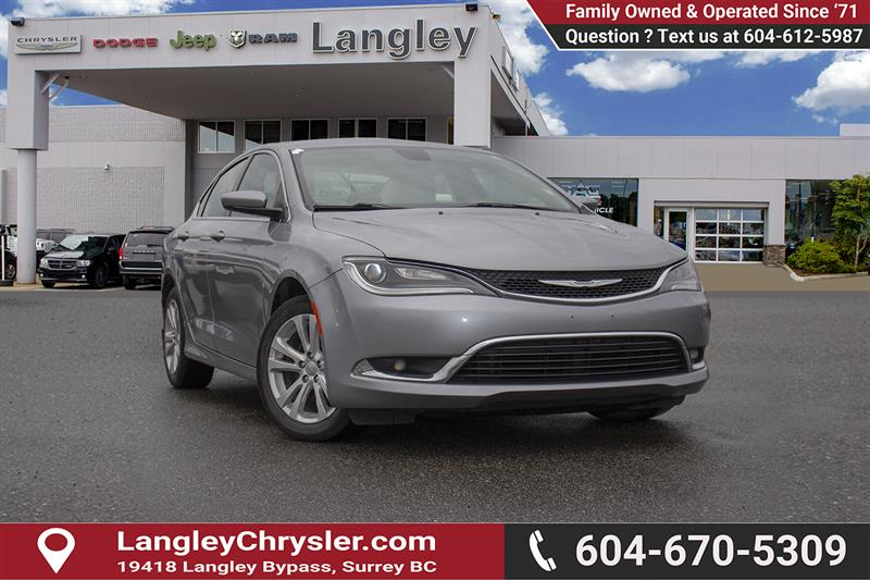 2015 Chrysler 200 Limited #EE896890A