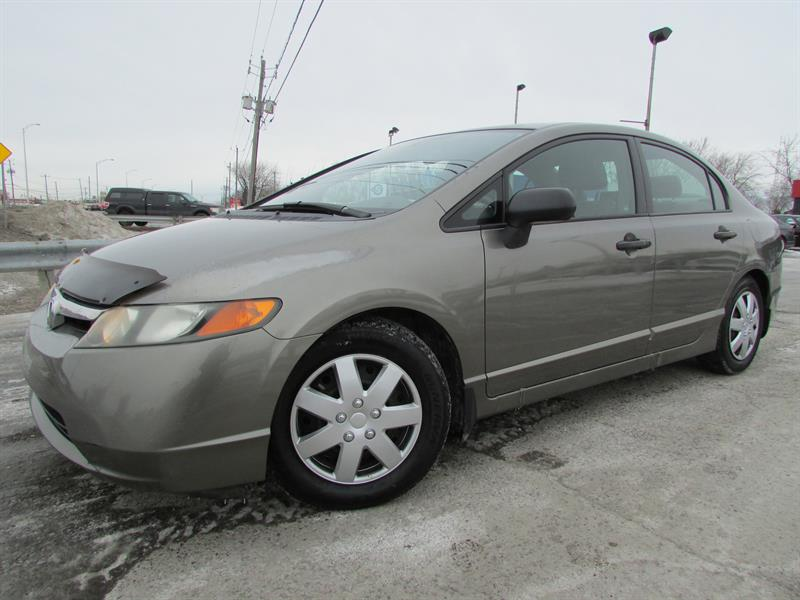 Honda Civic 2006 DX-G MAN. A/C GR ELECTRIQUE!!! #4207