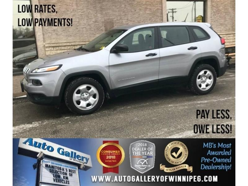 2018 Jeep Cherokee Sport #23642