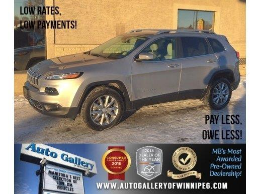 2018 Jeep Cherokee Limited #23756