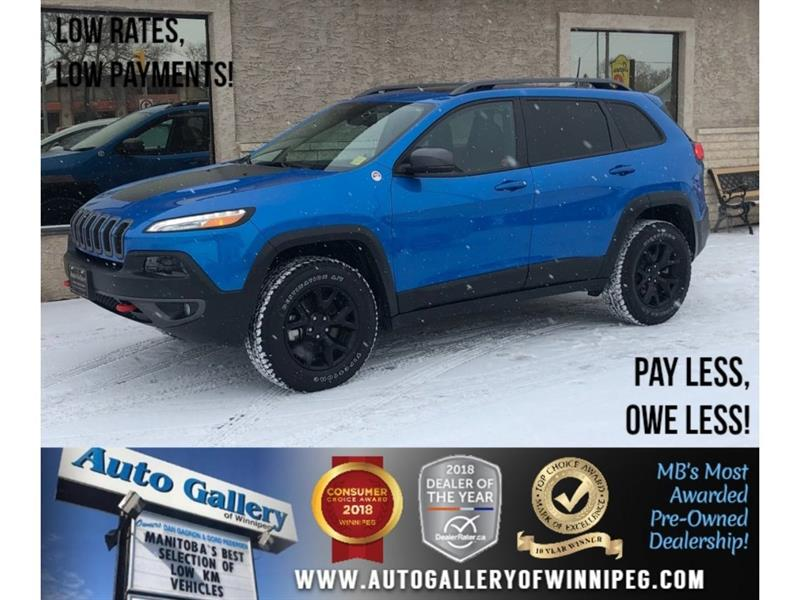 2018 Jeep Cherokee Trailhawk Leather Plus #23764