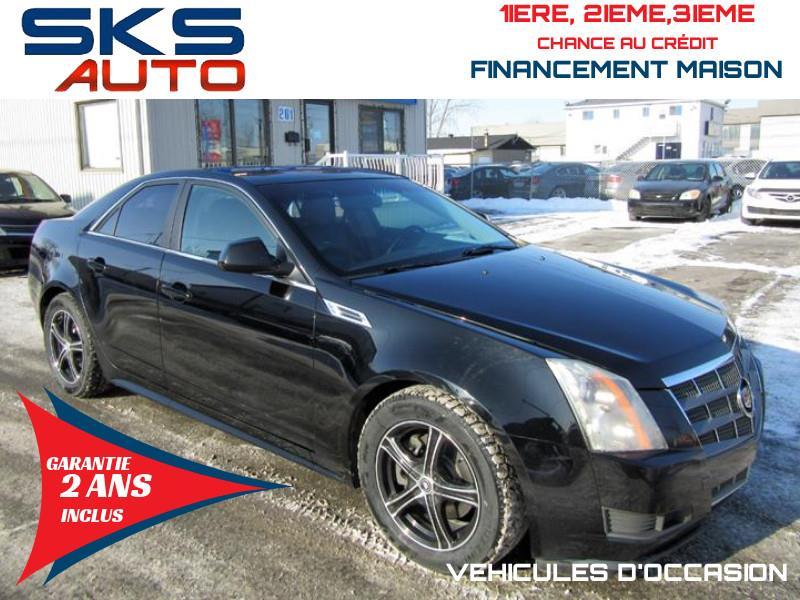 2010 Cadillac CTS Sedan (GARANTIE 2 ANS INCLUS) VEHICULE D'OCCASION #SKS-4233-8