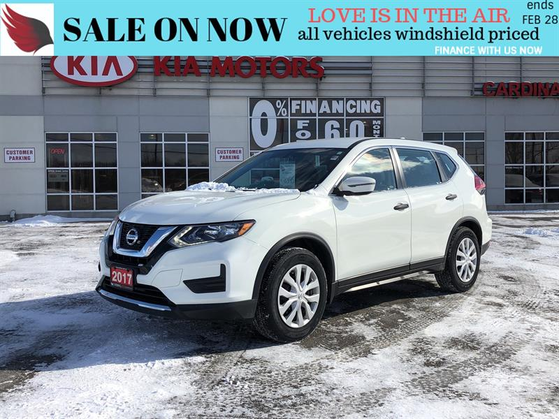 2017 Nissan Rogue S*ONE OWNER*CARPROOF CLEAN #SD19133A