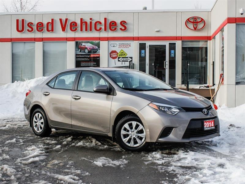 2014 Toyota Corolla LE ECO   H.Seats   R.Cam   B.Tooth   Keyless #P7858