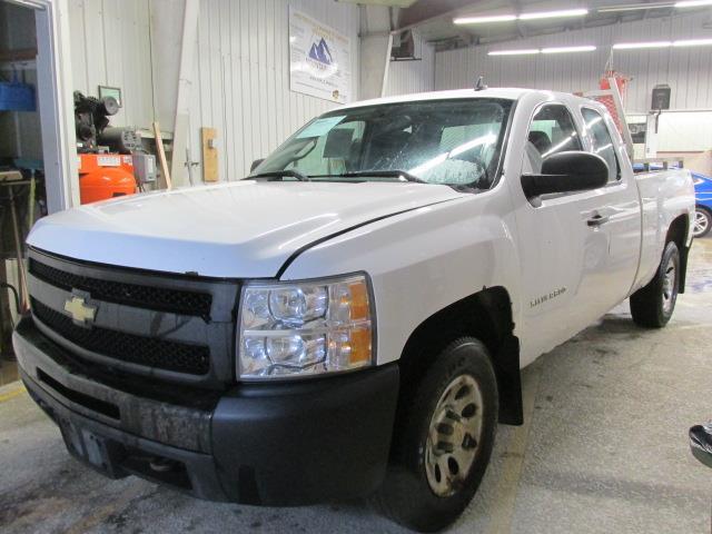 2011 Chevrolet Silverado 1500 2WD Ext Cab 143.5 WT #1114-2-32