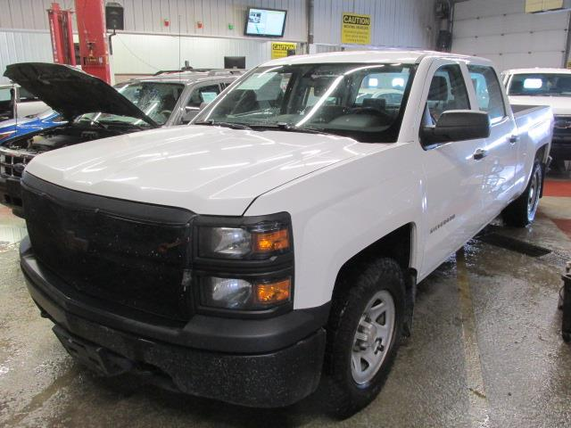 2014 Chevrolet Silverado 1500 4WD Crew Cab Box Work Truck #1114-2-72