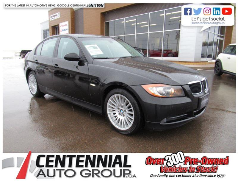 2008 BMW 3 Series Manual! Leather! Sunroof! #U628A