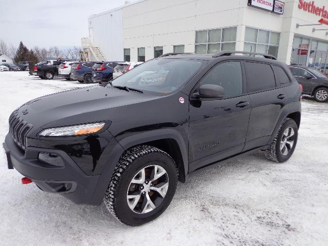 2016 Jeep Cherokee 4WD 4dr Trailhawk #GW294238A