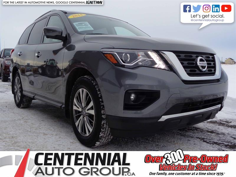 2018 Nissan Pathfinder SL 4x4 | SAVE $10,500 | EXECUTIVE DRIVEN | #S17-332