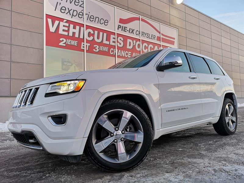 Jeep Grand Cherokee 2015 4WD 4dr Overland+DIESEL+NAV+TOIT PANO+WOW! #18667A