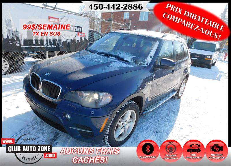BMW X5 2011 AWD 35i AUTOMATIQUE TOIT PANORAMIQUE #BL405765