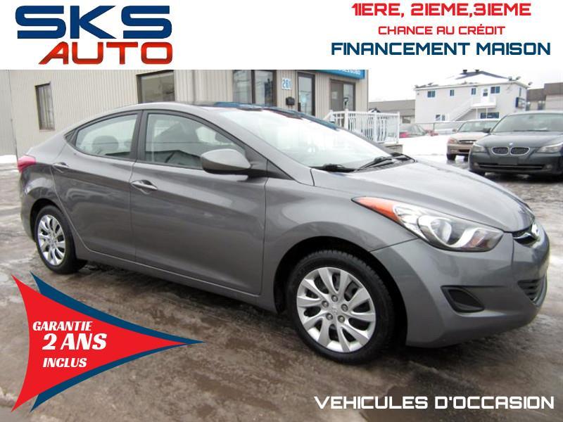Hyundai Elantra 2011 47359 KM (GARANTIE 2 ANS INCLUS) #SKS-4312-