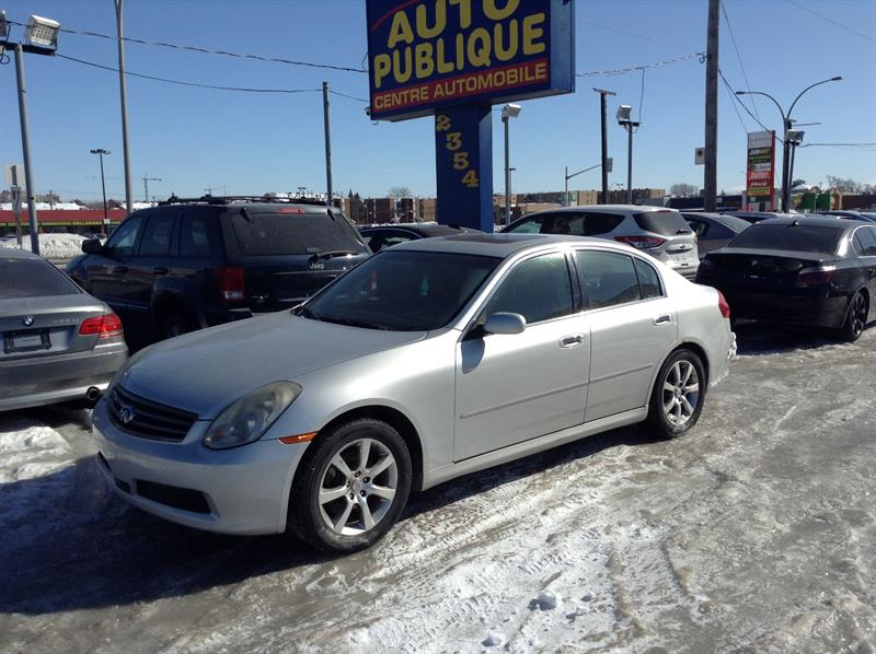 Infiniti G35x 2006 traction integrale #40184