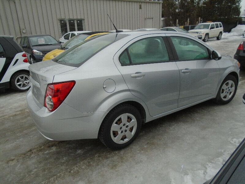 Chevrolet Sonic 2013 4dr Sdn LS Auto #1182