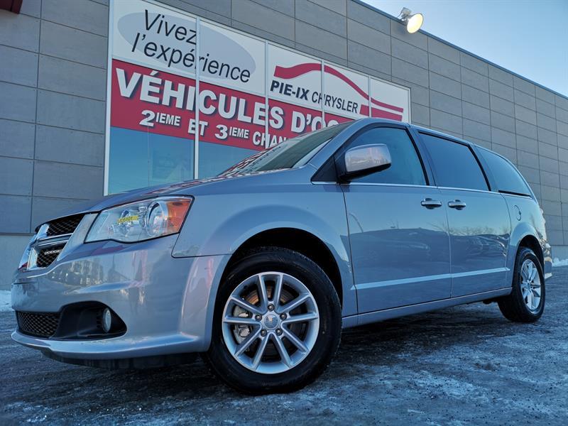 Dodge Grand Caravan 2018 SXT Premium Plus+MAGS+CUIR/TISSUS+BLACKTOP+WOW! #UD5101
