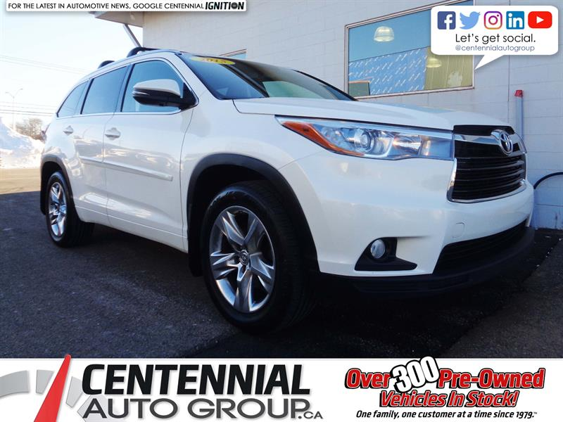 2015 Toyota Highlander Limited | AWD | NAV | Backup Cam | Bluetooth #19-055A