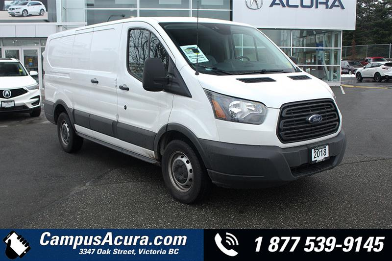 2018 Ford Transit Van T-150 130 Low Rf 8600 GVWR Swing-Out RH Dr #AC0959