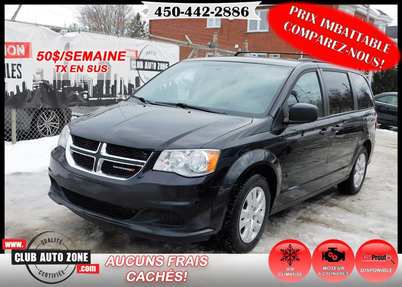 Dodge Grand Caravan 2014 AUTOMATIQUE AIR CLIMATISÉ #ER461993