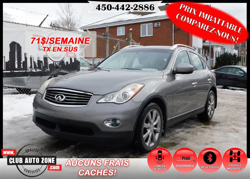 Infiniti EX35 2010 AWD AUTOMATIQUE BLUETOOTH #AM753682