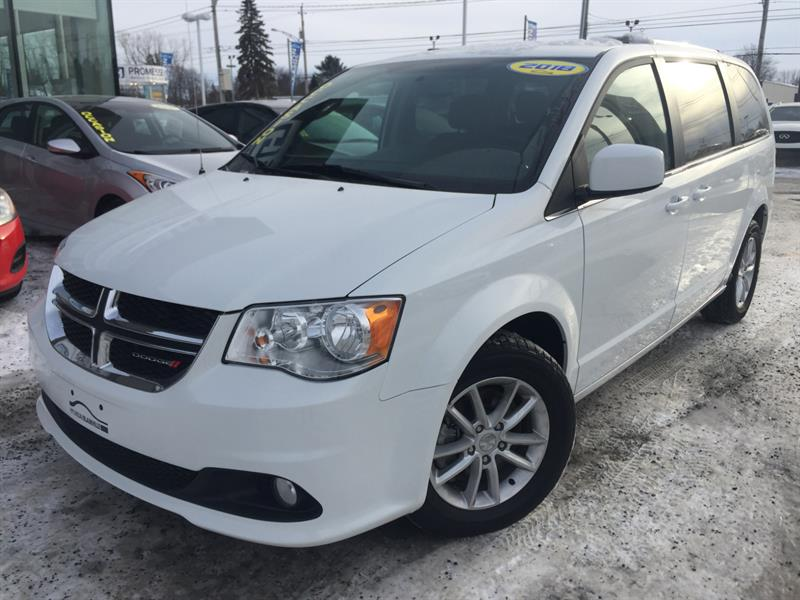 2018 Dodge Grand Caravan SXT, STOW N GO, PRM PLUS, NAVI, DVD,+++ #E-0327