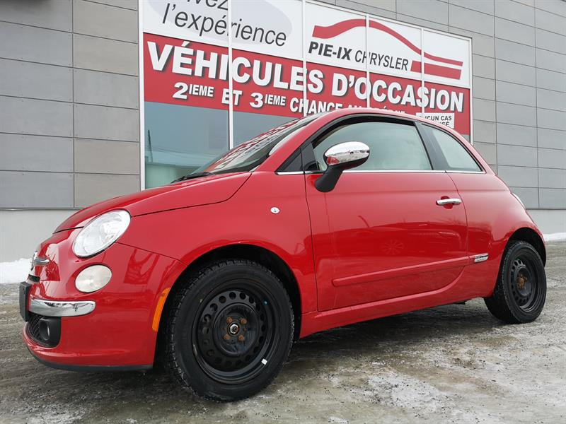 Fiat 500 2012 2dr HB+LOUNGE+CUIR+TOIT+MAGS+WOW! #UD5102