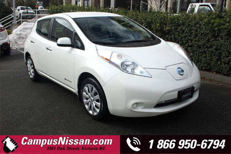 2015 Nissan Leaf | S | FWD w/ Quick-Charge #JN3137