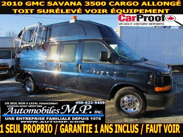 GMC Savana 3500 2010