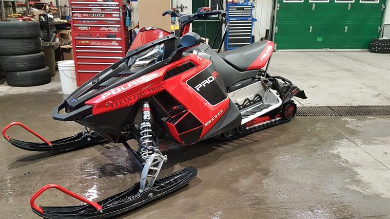 POLARIS RUSH 800 PRO R 2011