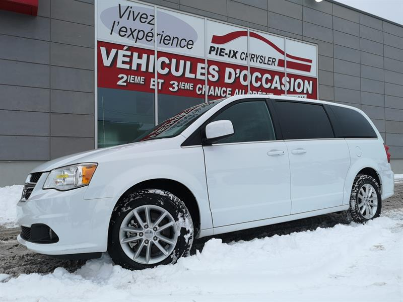 Dodge Grand Caravan 2018 SXT Premium Plus+MAGS+CUIR/TISSUS+BLACKTOP+WOW! #UD5117