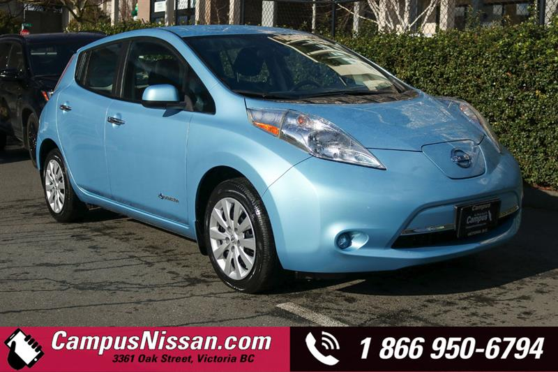 2015 Nissan Leaf | S | FWD w/ Quick-Charge #JN3143