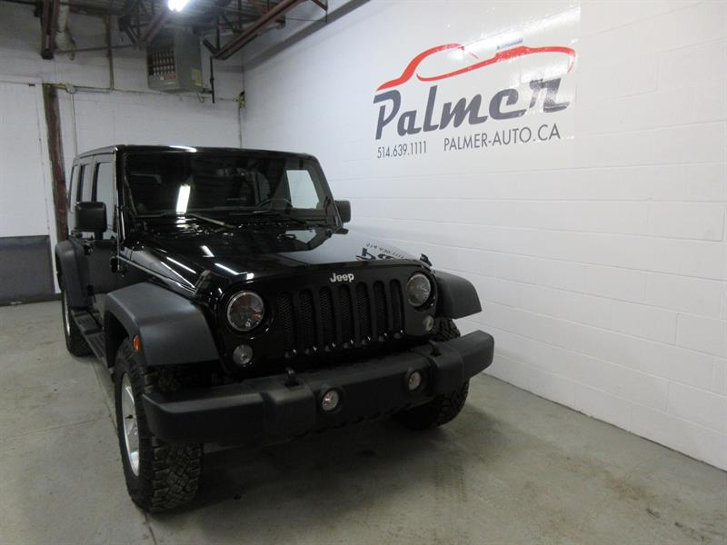 Jeep Wrangler Unlimited 2014 4WD 4dr Sport #18548