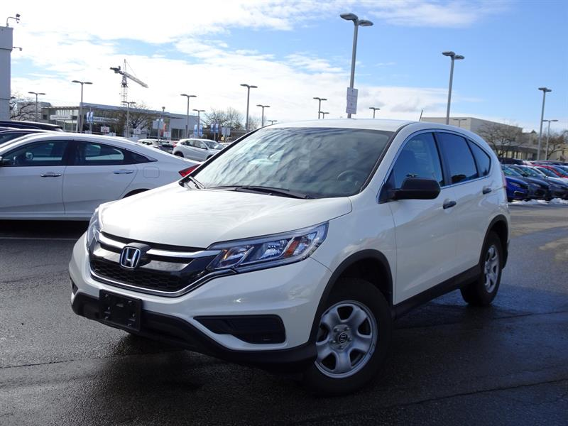 2016 Honda CR-V LX 2WD! Honda Certified Extended Warranty to 160,0 #LH8544