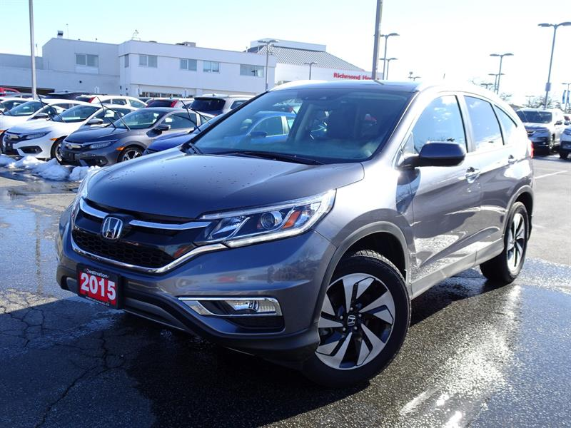 2015 Honda CR-V Touring AWD! Honda Certified Extended Warranty to  #B12398