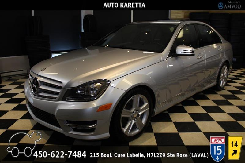 Mercedes-Benz C-Class 2013 C 300 4MATIC/AWD TOIT OUVRANT, CUIR, BLUEOOTH, A/C #AS8395A