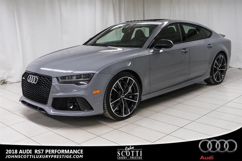 2018 Audi Rs 7 SPORTBACK PERFORMANCE 4.0 TSI Quattro #P16132