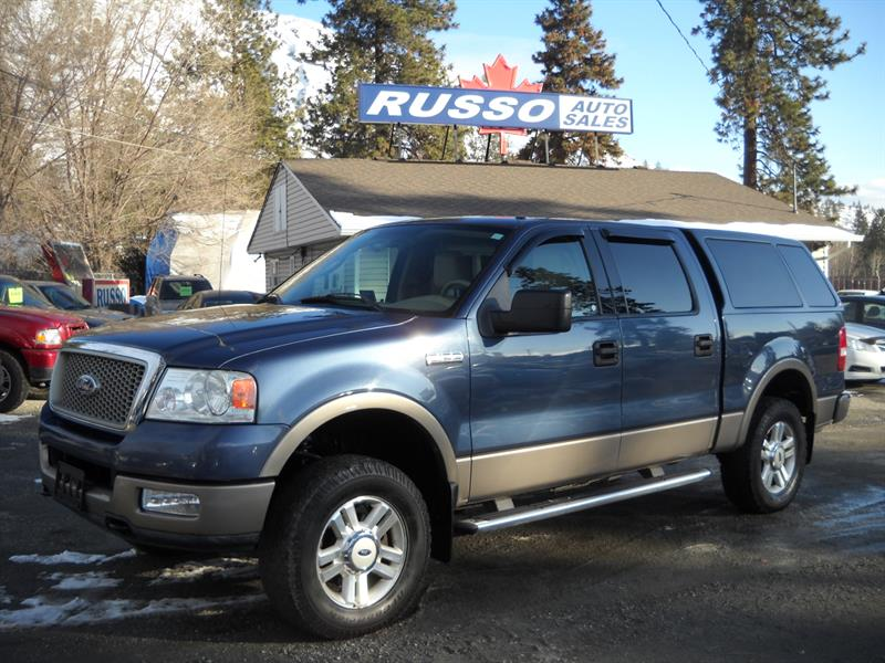 2004 Ford F-150 LARIET, SUPERCREW, 4X4 #3370