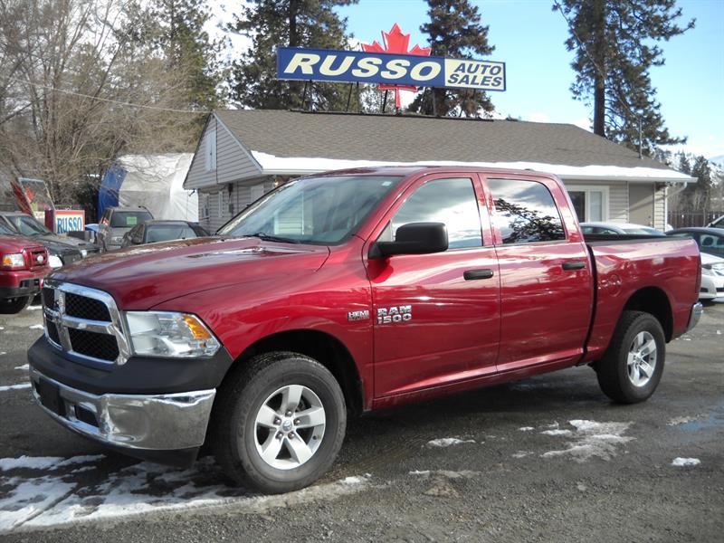 2013 Ram 1500 ST, CREW CAB, HEMI 4X4  #3377