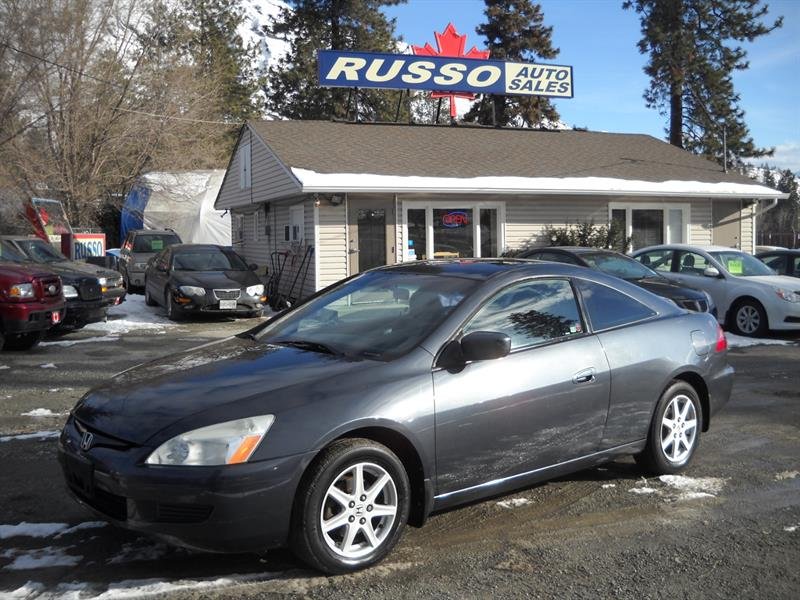 2004 Honda Accord Cpe EX, V6, AUTO, ONLY 137 KMS #N0O88