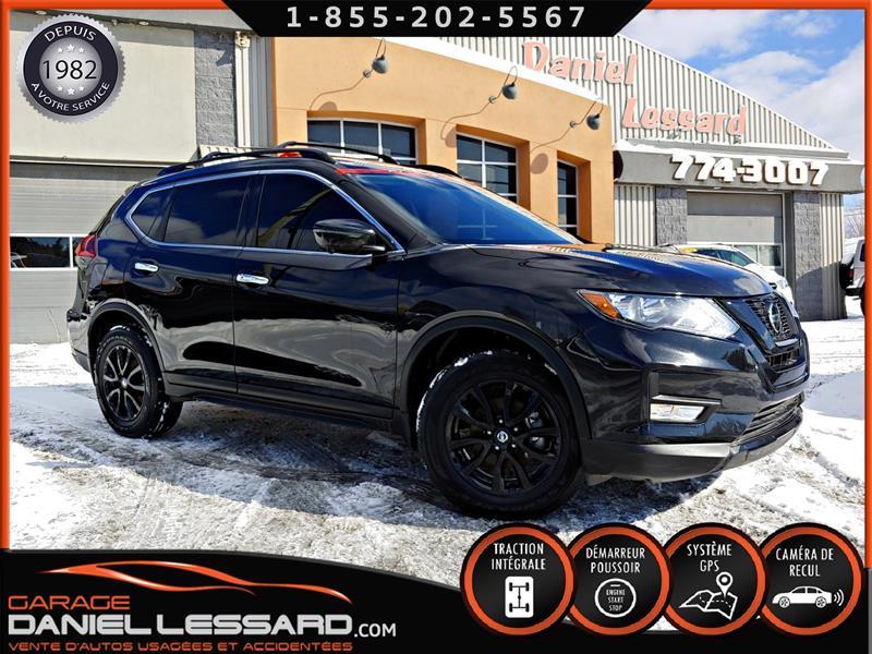 Nissan Rogue 2018 MIDNIGHT, AWD, GPS, TOIT PANO MAG 17 VGA AVANT GAU #89070