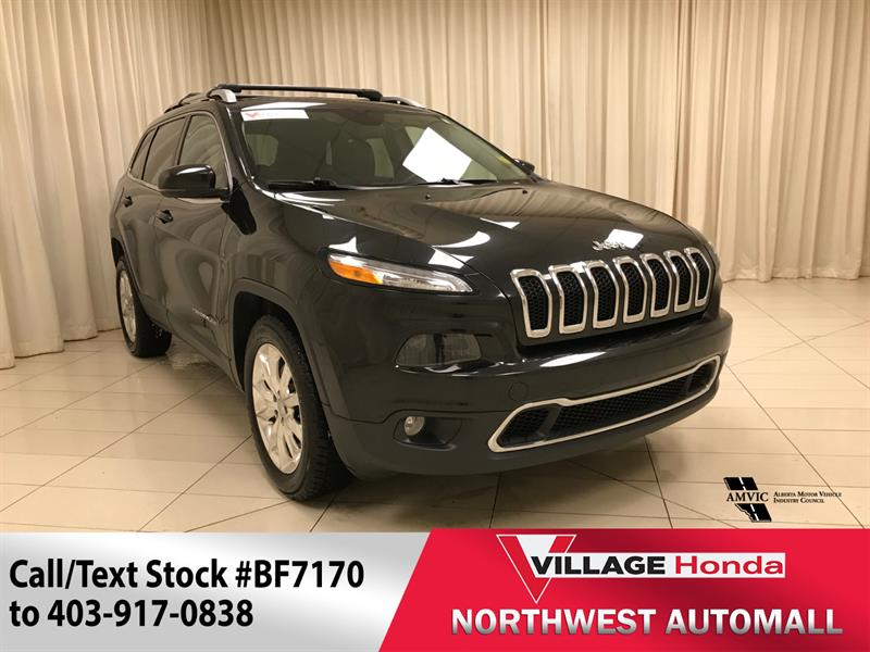 2015 Jeep Cherokee Limited - Camera/Leather #BF7170