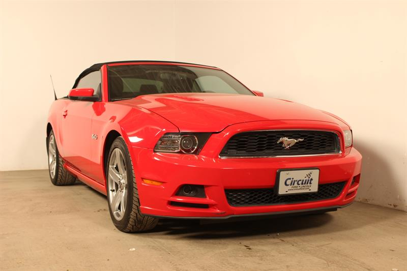 Ford Mustang 2013 GT 5.0L CONVERTIBLE #90273a