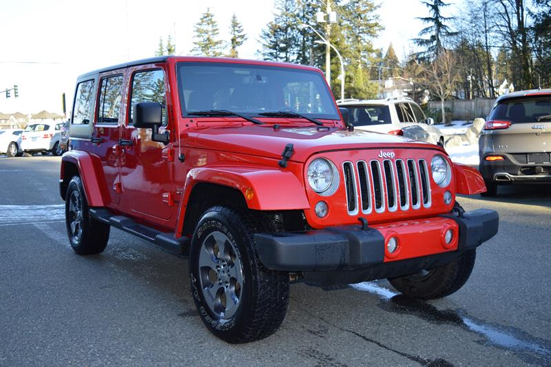2017 Jeep Wrangler Unlimited 4WD Sahara - NAV #CWL8974B