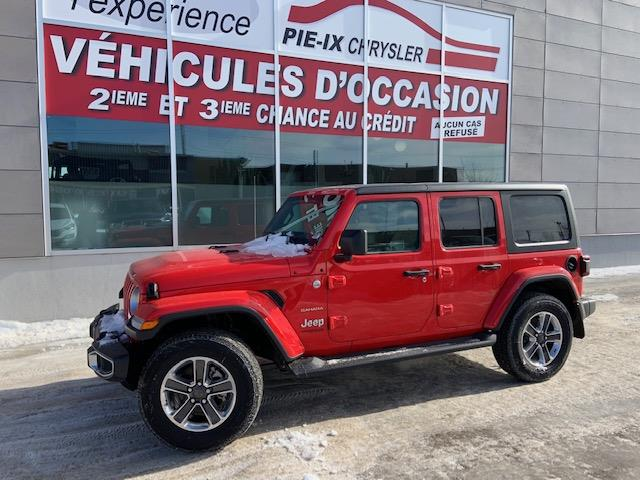 Jeep Wrangler Unlimited 2018 Sahara 4x4 #C18309