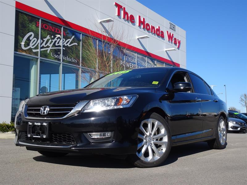 2013 Honda Accord Touring V6 LEATHER, NAVIGATION, SUNROOF #P5312
