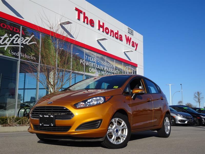 2016 Ford FIESTA SE Hatchback - BLUETOOTH, HEATED SEATS, ALLOY WHEE #P5323